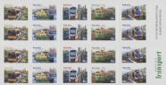 Aus SG3729a Capital City Transport self-adhesive booklet pane (SB402)